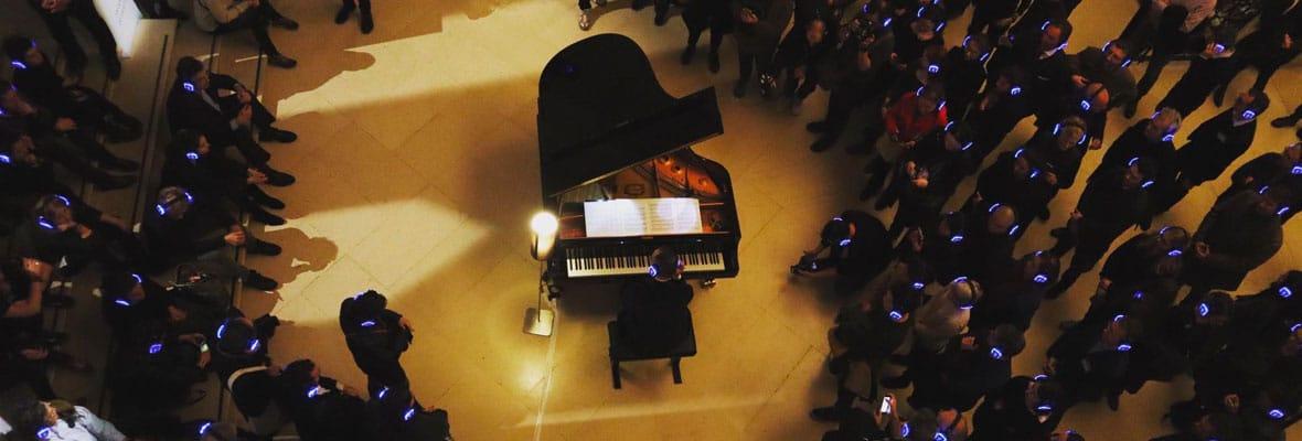 Silent Concert Louvre