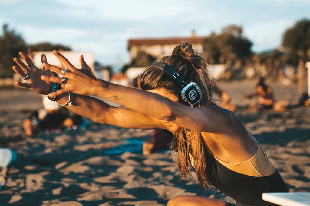 Silent Yoga Menu